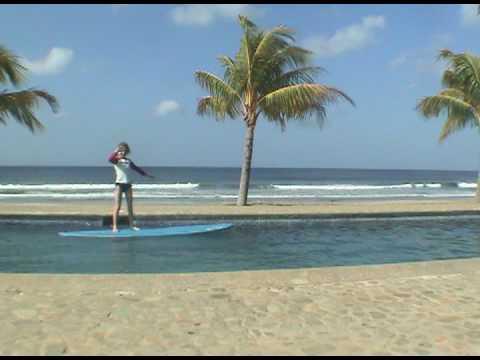 Nicaragua Pool Surfing 2