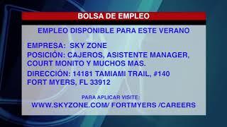 BOLSA DE EMPLEO - SKY ZONE
