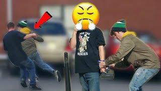 Handcuffing People to Lock Box Prank! | RebelTV