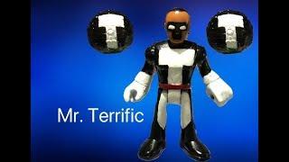 new imaginext 2017 custom build Mr. Terrific