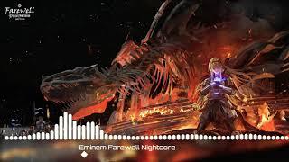 Eminem - Farewell Nightcore
