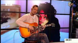 Chris Cornell - Fell On Black Days [Acoustic] -  GO' Morgen '09