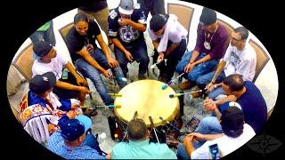 Stoney Creek Drum Circle, Seminole Tribal Fair and Pow Wow HD Video