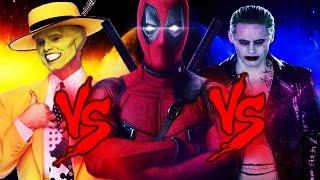 O Máskara VS. Deadpool VS. Coringa | RAP BATTLE (Ft. All Place Br, Takeru)