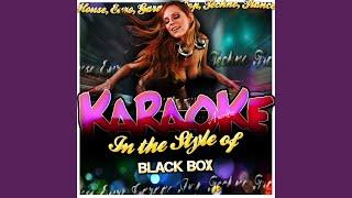 Fantasy (In the Style of Black Box) (Karaoke Version)