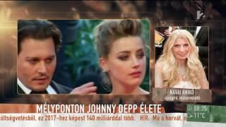 Johnny Depp őszintén mesélt magánéletéről Návai Anikónak! - tv2.hu/mokka