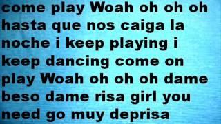 Señorita Abraham Mateo 2013 Lyrics