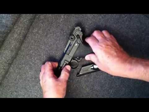 Video: Field stripping Legends P08 blowback air pistol HD | Pyramyd Air