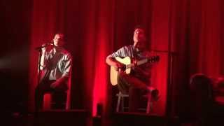 Boulevards des Airs - Bruxelles (live acoustic at the BSF press conference)