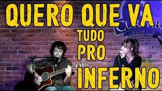 Quero que vá tudo pro inferno - Roberto Carlos (cover) Sandra Piola e Bruno Sguissardi (Anacrônica)
