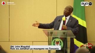 Majibu ya Rais Magufuli kwa wanaosema ni Dikteta width=