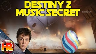 Destiny 2 Easter Egg - Paul McCartney Song