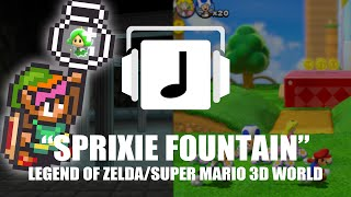 """Sprixie Fountain"" Legend of Zelda/Super Mario 3D World Mashup"