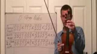 Violin Lesson 3 - Learn D String Notes