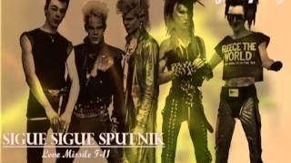 "Sigue Sigue Sputnik - ""Love Missile F1-11"" 1985 Parlophone Portugal 45 RPM Stereo"