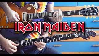 Iron Maiden - Aces High Guitar Solos Cover