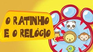 Canções Infantis - Animazoo - O Ratinho e o Relógio