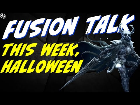 Fusion talk, Thursday & Halloween How will you handle the fusions? RAID SHADOW LEGENDS