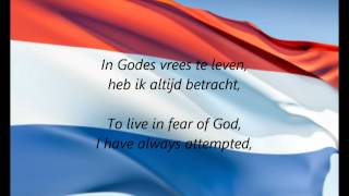 "Dutch National Anthem - ""Het Wilhelmus"" (NL/EN)"