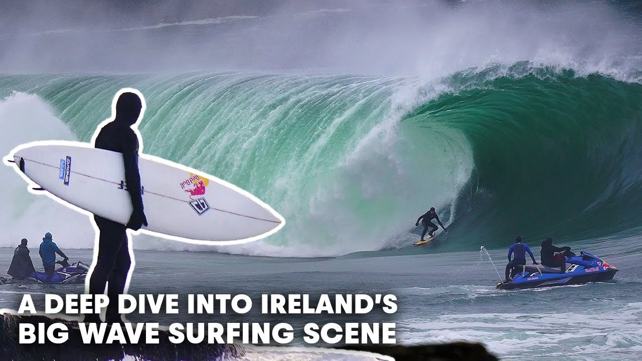 These Are The Burly Souls Who Brave Ireland's Biggest Waves