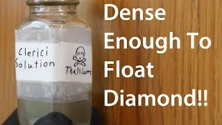 Clerici's Solution; The Heaviest Clear Liquid?