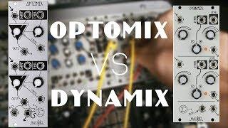 Make Noise Optomix vs Dynamix (no talking)
