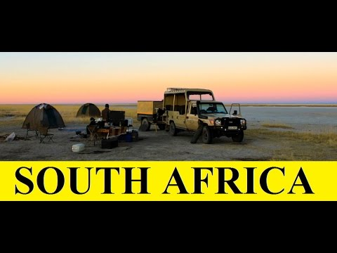 South Africa to Namibia (Overland tours-Aftica) Part 1