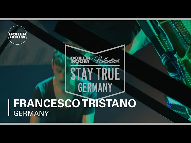 Video en directo de Francesco Tristano en Boiler Room & Ballantine's Stay, Alemania