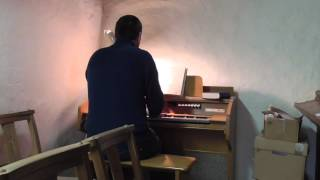 Gentle Jesus, meek and mild - Compton 'Sonatina' electrone organ