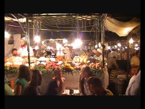 Callejer@s Viajer@s Marrakech (Capítulo 4 – Noche en Djemaa el Fna)