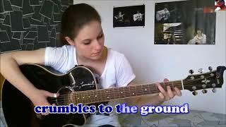 Dust in the wind Kansas (Gabriella Quevedo) (violão acústico) karaoke