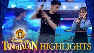 Anne Curtis gets surprised by a sudden sound | Tawag ng Tanghalan