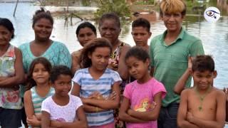Moradores do Cariri estão ilhados e com casas alagadas após projeto mal executado da prefeitura