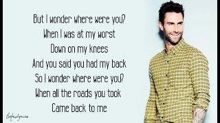 Maps - Maroon 5 (Lyrics) 🎵 width=