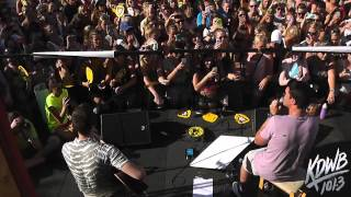 Timeflies Performs 'Swoon' Live at the KDWB MN State Fair Booth