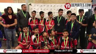 Liga San Francisco Finales Infantiles 2018 en Chicago