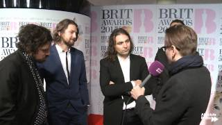The War on Drugs on their Love of British Music Venues | BRITs 2015