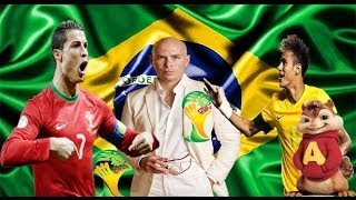 We Are One Ole Ola The Official 2014 FIFA World Cup Song Olodum Mixnn Chipmunks 2014