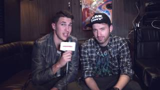 Trust Falls on Timeflies' Tour Bus