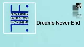 Dreams Never End with lyrics
