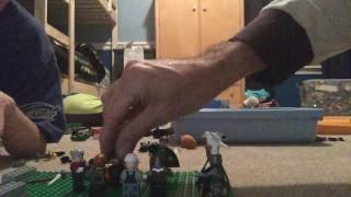 LEGO Harry Potter and the Death eater attack part 2 order of the Phoenix meeting