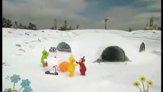 Teletubbies Ending Snow French