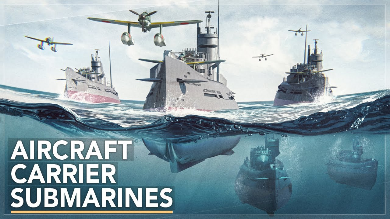 Underwater Aircraft Carriers : Imperial Japan's Secret Weapon