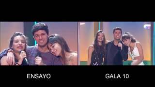 Aitana, Ana War, Alfred - Solo Si Es Contigo (Ensayo / Gala 10) OT 2017