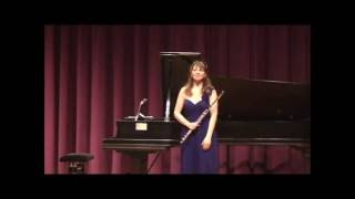"Mimi Stillman performs Edgard Varèse ""Density 21.5"" for Solo Flute"