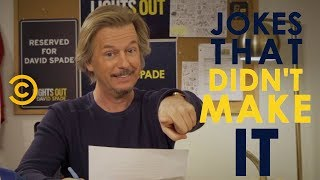 Jokes We Didn't Use Pt. 5 - Lights Out with David Spade