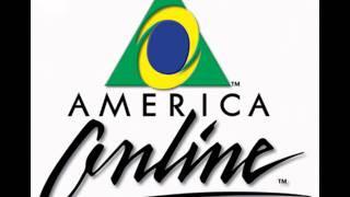 Chegou mensagem pra você - America online AOL
