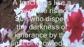 AN IDEAL TEACHER  3 width=