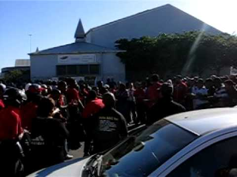 Street Protest in Langa, Cape Town