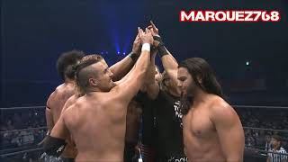The Bullet Club in good spirits at their 5th anniversary (Young Bucks Too Sweet!)